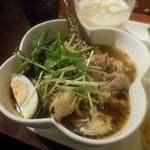 東京ドミニカ - チキンのスープカレー 黄