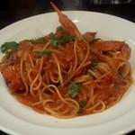 58473351 - 渡り蟹のトマトクリームパスタ(1,700円)蟹の風味が食欲を刺激します
