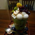羅り瑠れ櫓 - 抹茶パフェ