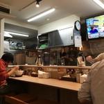 ガガナ ラーメン - お昼過ぎの店内