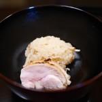 京都 吉兆 - お食事 松茸ご飯と京都赤鶏