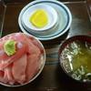 鶴亀屋食堂 - 料理写真:極上メバチマグロ丼の小 2500円