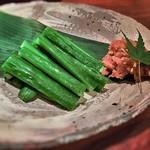 北浜 よし田 - 鯛味噌胡瓜