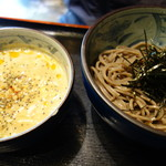 ボンサイ - ごまだれ鶏つけ蕎麦720円(小)