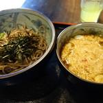 ボンサイ - 鶏つけ蕎麦720円(小)