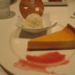 トゥッティ フルッティ - ケーキセット   りんごジェラート