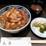 天菊 - かき揚げ丼 1080円