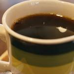 ドットカフェ - 今回、ドリンクはホットコーヒーにしました(2016.11.7)
