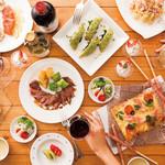 レストラン アンソレイユ - ガーリーカジュアルパーティプラン