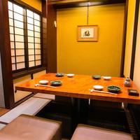 プライベートな個室空間で、鮮魚の旨みを味わえる絶品料理を堪能