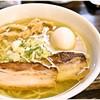 麺堂稲葉クキスタイル - 料理写真:らーめん塩(全盛り) 680+280円 あっさりしつつもコクのあるバランス感覚が素敵♪