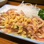 小麦 - 料理写真:八代名物「このしろ」は刻んで生姜醤油で食べる