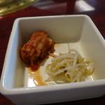 韓国宮廷料理ヨンドン - キムチ&ナムル