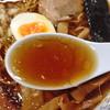 八王子市役所 食堂 - 料理写真:八王子ラーメン420円+大盛り50円(スープ)