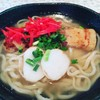 清ら花 - 料理写真:沖縄そば、、スープに癒されました。