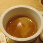 メロウ ブラウン コーヒー - ロングブラック(HOT)アップ