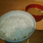 いいとikkai - ご飯と味噌汁が旨い♥ (。^。^。)