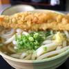 植田うどん - 料理写真:かけ中 320円+穴子天ぷら 120円