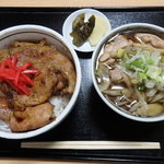 いつき - 料理写真:豚丼セット 1200円