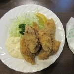 松榮亭 - 牡蠣フライ