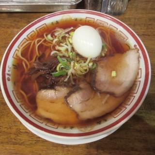 中華そば つし馬 - 料理写真:青森煮干し中華そば