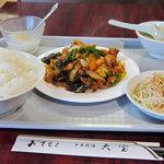 5857487 - 鶏肉の四川炒め定食580円は安い!
