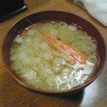 浦島鮨 - 味噌汁