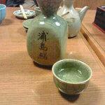 浦島鮨 - お酒