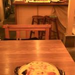 58570567 - ホワイトソースとチーズのとろとろパンケーキ 1050円(税込)