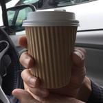 山ベーグル&CoffeeStand - ドリップコーヒー このカップが飲みやすかった