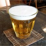 アジアンバールアンドカフェ キーマオキッチン. - ランチビール200円