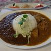 風見鶏 - 料理写真:奥美濃ツインカレー