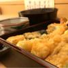 萬 - 料理写真:天重1100円