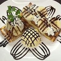 ナチュラルフードカフェグリーンハート - チョコバナナワッフル