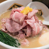 真鯛らーめん 麺魚 - 料理写真:2016.11 特製濃厚真鯛らーめん(1,100円)