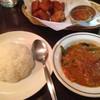RENU - 料理写真:ミックスベジタブルカレー、ライス、フライドチキン