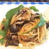 ペティトマト - 料理写真:栗入りボスカイオーラのスパゲティ