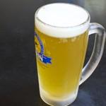 海鮮いづつ - 500円『カボスビール』2016年11月吉日