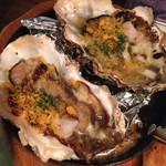 Oyster Bar ジャックポット - まこと牡蠣のカニ味噌焼き