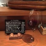 チェターラ - おすすめmenuと赤ワイン 700yen(16.02)