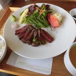 OUMA KITCHEN - 和牛ステーキランチ 1,380円