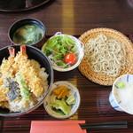 えの本 - 天丼膳 1300円