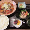魚がし厨房 湊屋 - 料理写真:日替わり定食(ブリとイカ団子の黒酢あんかけ) 1000円