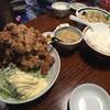 二代目蝦夷 - 料理写真:からあげ定食トリプル