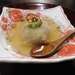 しし翁 - 揚げ蓮根餅