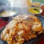 レストラン喫茶 タクト - 豚のジュージュー焼定食