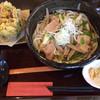 麦の香 - 料理写真:肉うどん660円+季節のかき揚げセット150円
