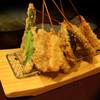 名代 串揚げ 松葉 - 料理写真:食材を活かすシンプルな串揚げ