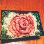 和食 Dining 兜 カブト - 料理写真:ローストビーフ薔薇(持帰り)