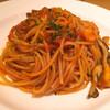 TRATTORIA tanto Tavoletta - 料理写真:タコと舞茸のパスタ(ロッソ)